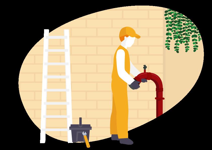 Maintenance colonne sèche