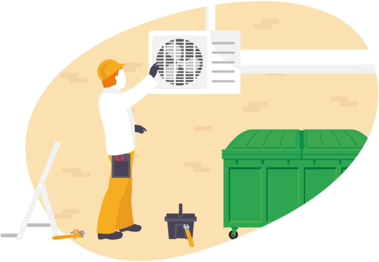 Maintenance des systèmes de ventilation