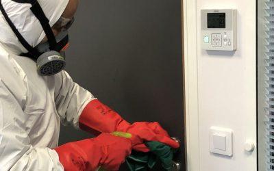 Lutte contre le Coronavirus dans les immeubles